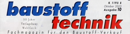 Baustofftechnik Logo