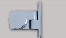 HS Scharnier Glas/Wand 90° links