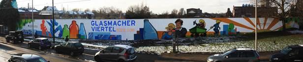 Graffitischutz mit Graffiti Magic als Permanentschutz, Düsseldorf