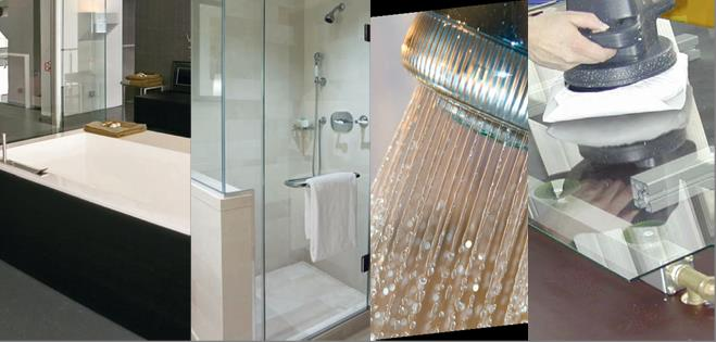 Newpro proGlas als Klarglas für Dusche