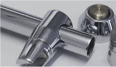 Stabistange Glas/Wand 90° 800-1000 mm