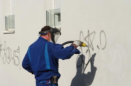 Graffiti entfernene leicht gemacht!