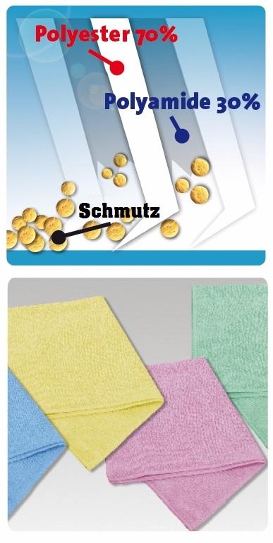 Mikrofasertuch einfach 3