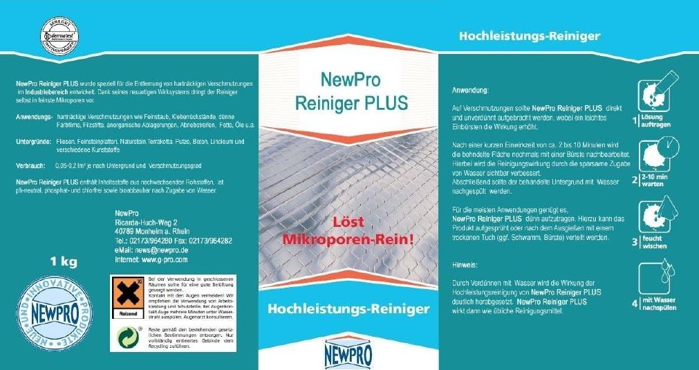 NewPro Reiniger PLUS