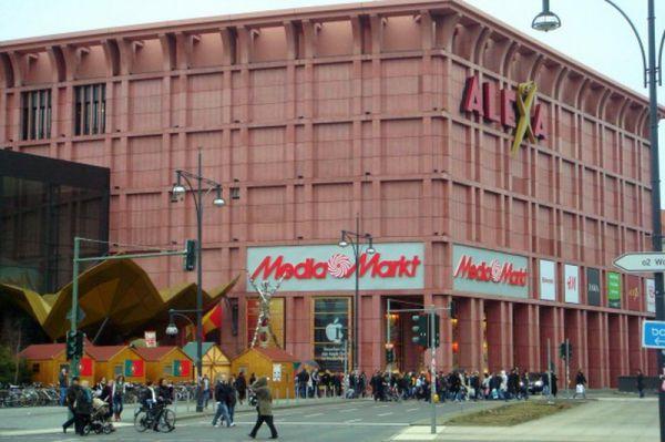 Alexa Shoppingcenters, Berlin geschützt mit Graffiti Magic
