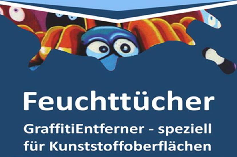 Graffiti Remover Feuchttücher - spezial