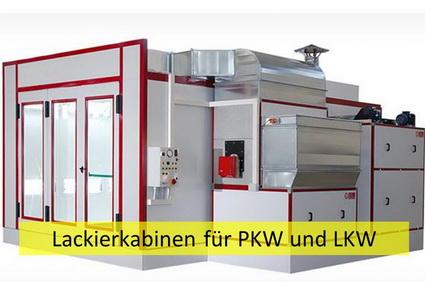Lackierkabinen für PKW und LKW