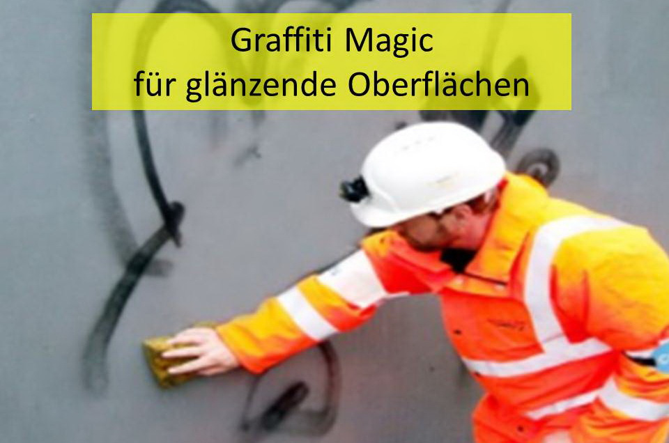 Permanenter Graffitischutz (Glanzversion)