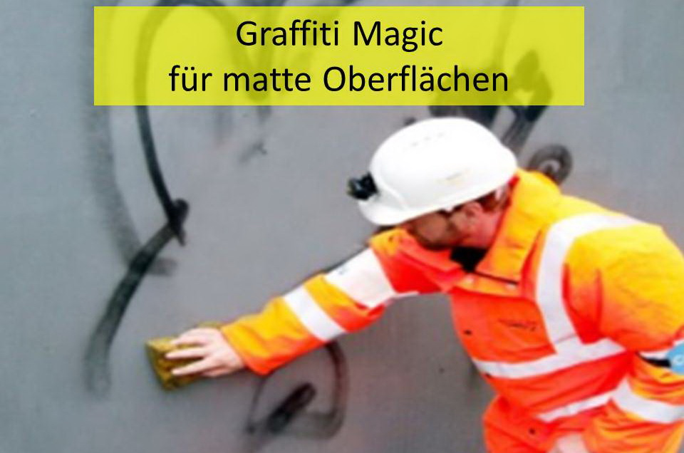 Permanenter Graffitischutz (Mattversion)