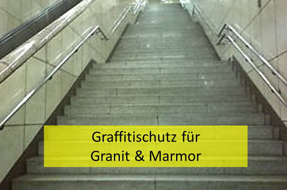 Graffitischutz für Granit & Marmor