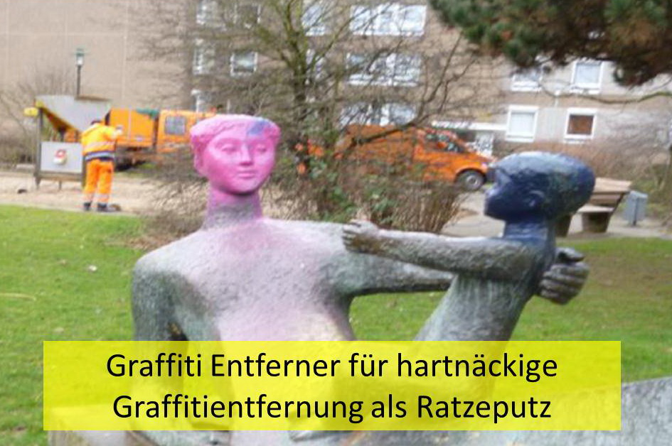 Graffiti Entferner für hartnäckige Oberflächen