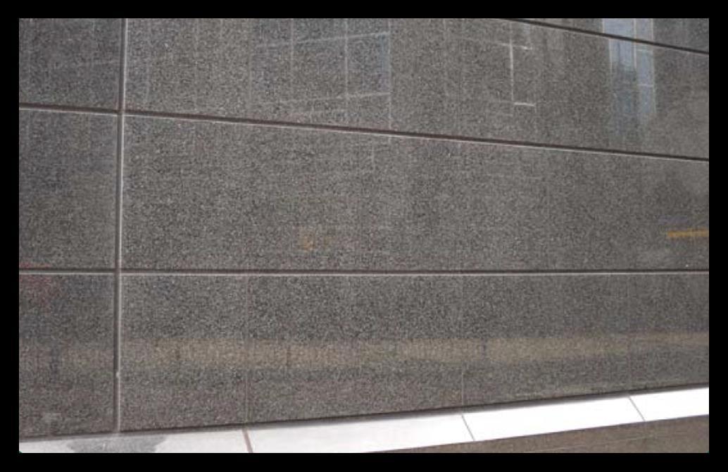 NewPro-HY Anti-Graffiti EXTRA, glatte Oberflächen wie Granit, Marmor, Terrazzo und poliertem Beton.