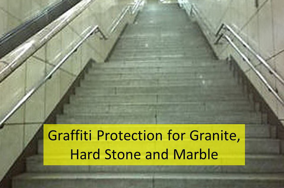 Graffiti Protection for granite & marble