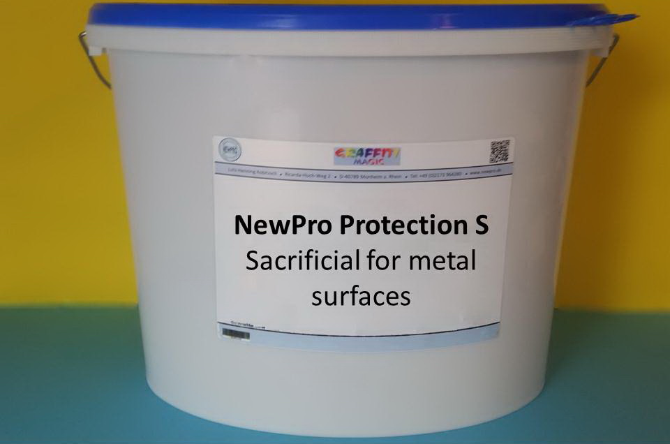 NewPro Protection S Sacrificial for metal surfaces