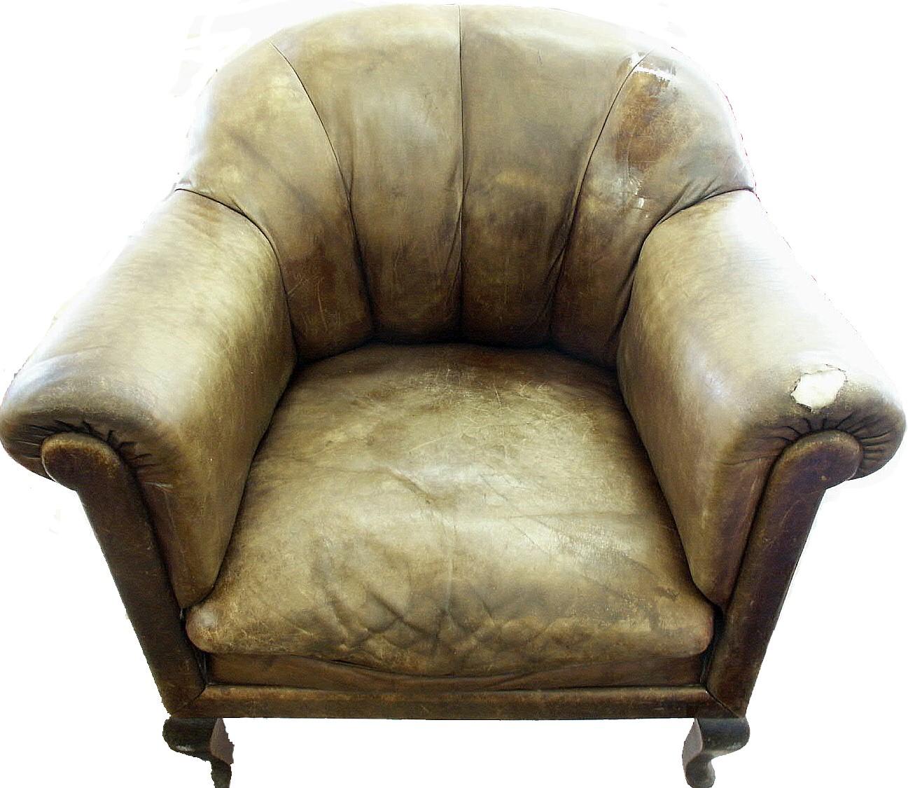 Leder Sessel von Oma