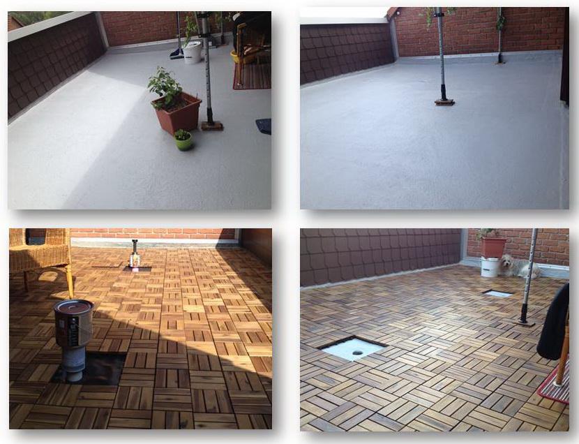 Wasserabweisende Dachbeschichtung - NewPro DRY – WATERPROOF SIS